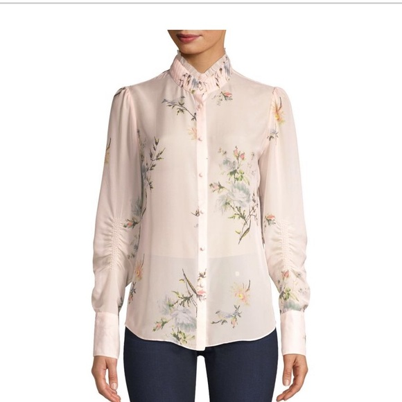 45a575f4c57003 Joie elzie silk blouse Small New 298